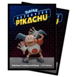 Pokémon Pikachu Detective Mr Mime deckpro sleeves piece (65ct)
