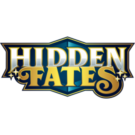 Pokémon Hidden Fates 2019 4-Pocket Portfolio