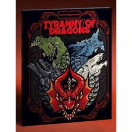 Dungeons & Dragons Next Tyranny of Dragons Alt Cover book