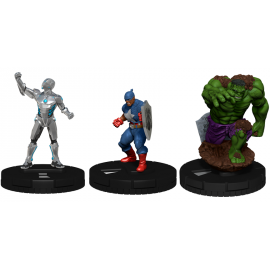 Marvel HeroClix: Captain America and the Avengers Booster Brick