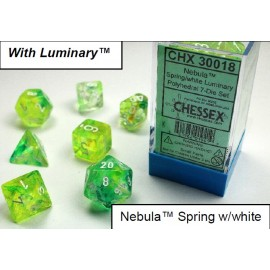 Nebula TM Spring/white 7-Die Set