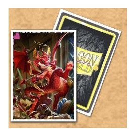 Dragon Shield Matte - Valentine Dragon 2020 (10x100)