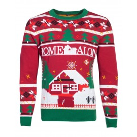 FOX - Home Alone - Knitted Christmas Jumper - XL