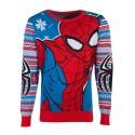 Marvel - Spiderman Knitted Unisex Jumper - L
