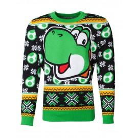 Nintendo - Super Mario Yoshi Christmas Jumper - S
