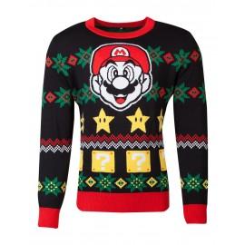 Nintendo - Super Mario Knitted Unisex Jumper - S
