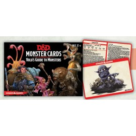 D&D Volo's Guide to Monster Cards (81 cards)