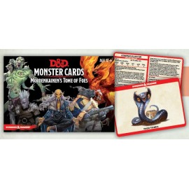 D&D Mordenkainen's Tome of Foes Cards (109 cards)