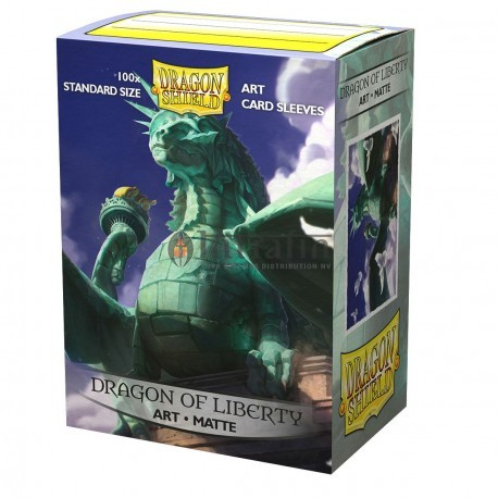 Dragon Shield: ART Sleeves (100) Dragon of Liberty (Matte)