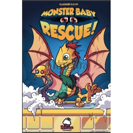 Monster Baby Rescue boardgame