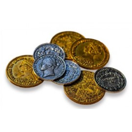 Nanty Narking Victorian metal coins
