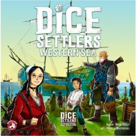 Dice Settlers: Western Sea - Boardgame