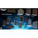 WarLock™ Dungeon Tiles: Doors & Archways