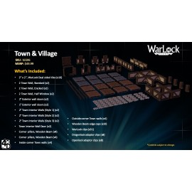 WarLock™ Dungeon Tiles: Town & Country