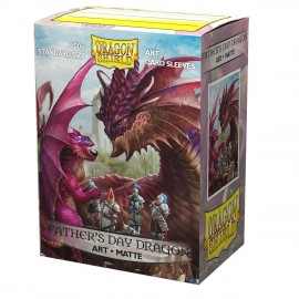 Dragon Shield: ART Sleeves (100) Father's Day Dragon 2020 Limited