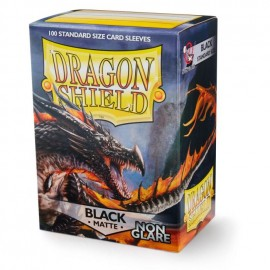 Dragon Shield Matte Non-glare - black (100)