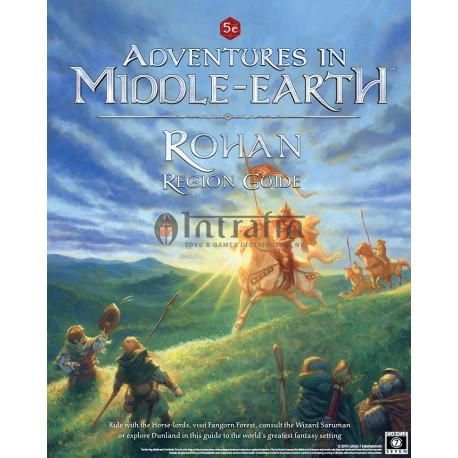 Adventures in Middle Earth Rohan Region Guide