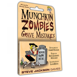 Munchkin Zombies Grave Mistakes