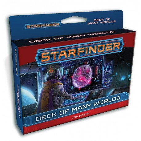 Starfinder Deck of Many Worlds