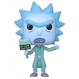 Animation: Rick & Morty - Hologram Rick Clone