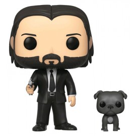 Movies :John Wick- John (Black Suit) w/Dog