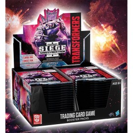 Transformers War of Cybertron Siege II booster display (30p) English