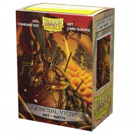Dragon Shield Sleeves - Standard size - Brushed Art: General Vicar: Portrait