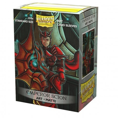 Dragon Shield Sleeves - Standard size - Brushed Art: Emperor Scion: Portrait