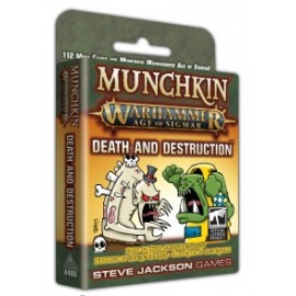 Munchkin Warhammer Age of Sigmar: Death and Destruction cardgame