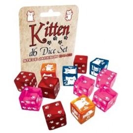 Dungeon Survival Pack Kitten Adventures D6 Dice Set