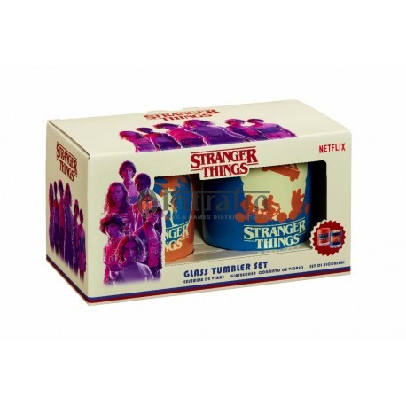 Stranger Things: Tumbler Set: Come Again Soon (2)