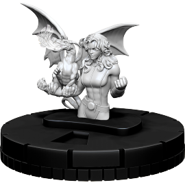 Marvel HeroClix Deep Cuts Unpainted Miniatures: Kitty Pryde