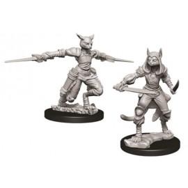 D&D Nolzur's Marvelous Miniatures -Female Tabaxi Rogue