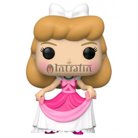 Disney:738 Cinderella - Cinderella in Pink Dress