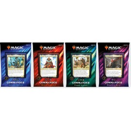 MTG Commander 2019 Display (4) Spanish
