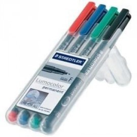 Water Soluble Markers 4- pack (Red, Blue, Green, Black)