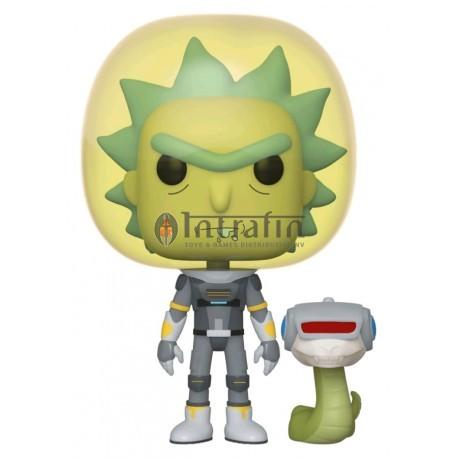 Animation:689 Rick & Morty - Space Suit Rick w/Snake
