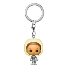 Keychain: Rick & Morty - Morty w/Space Suit