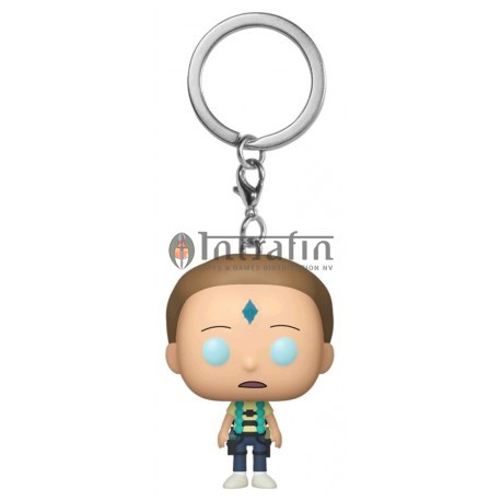 Keychain: Rick & Morty - Armed Morty