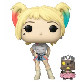 Heroes:308 POP & Buddy: Birds of Prey- Harley Quinn w/Beaver