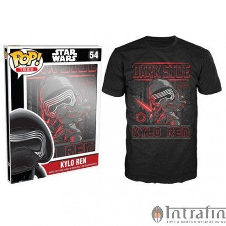 POP Tees 54 - Star Wars EPVII - Kylo Ren (XXL)