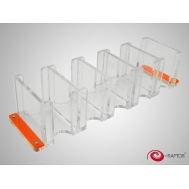 E-Raptor Card Holder 5S Solid Transparent