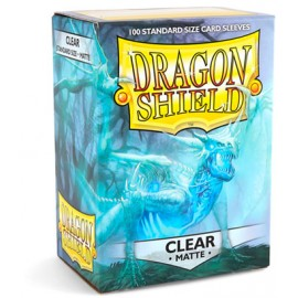 Dragon Shield Matte - Clear (10x100)