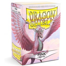Dragon Shield Matte - Pink (10x100)