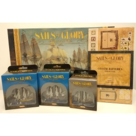 Sails of Glory Starter Set Promo pack (+sgn109a+110a+113a+503a)