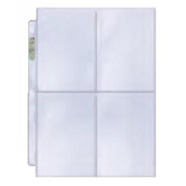 4-Pocket Pages Platinum (100)