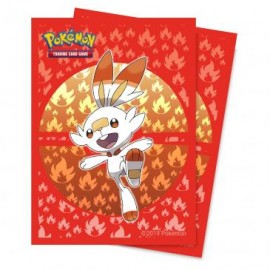 Pokémon Sword and Shield Scorbunny Deckpro 65ct