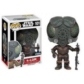Star Wars 101 POP - 4-Lom EXC