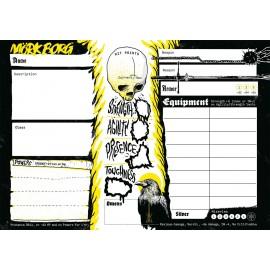 Mork Borg - Character Sheet Pad