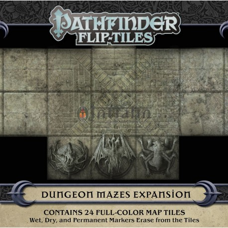 Pathfinder Flip-Tiles: Dungeon Mazes Expansion